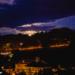 Fullmoonrise above Muristalden - Berne by Night