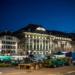 Market at Bundesplatz - Berne by Night