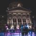 Ice Skating at Bundeshaus - Berne by Night