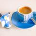 Espresso Vespa Blue - Coffee Time