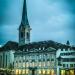 Eveningrise at Fraumünster - Zurich by Night