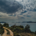 Mediterranean Coast on a Cloudy Day - Mediterranean Landscape
