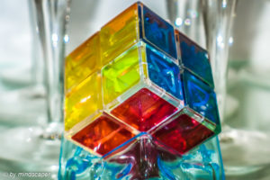 Rubik's ICe Cube - Vintage - Object