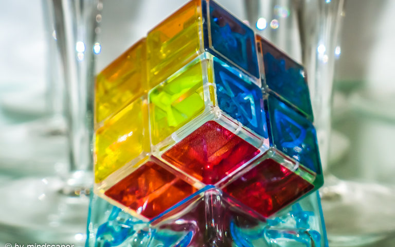 Rubik's ICe Cube - Vintage - Object