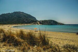 rush hour at the beach - mediterranean spirit