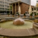 Fountain at Kennedy Square - Essen City