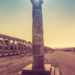 Column under the Sun - Greek Archaeological Site