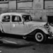 As I Met Al Capone - Vintage Car in Black & White