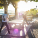 PingPong in Late Afternoon Sun - Berne Street People