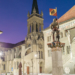 Venner Fountain and Peter and Paul Church - Berne in HDR by Nigh