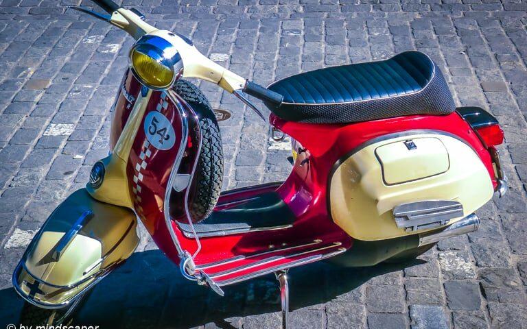 Vespa Nr. 54 - Vintage