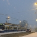 Tramway in the Snow - Winter Time