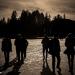 Walking on the Frozen Lake - Winter People