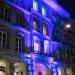 Einsteinhaus in Blau - Museumsnacht Bern 2018