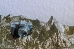 Geotagging: Camera and Matterhorn Model