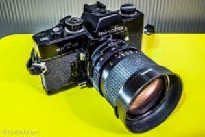 Minolta SRT101 Camera