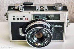 Ricoh 500 G Rangefinder Camera