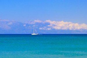 Vapoured Sailing Boat – Mediterranean Sea
