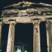 Gate of Athena Archegetis by Night - Romaiki Agora - Plaka - Athens