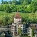 Felsenburg in the Spring Evening Sun - Berne Cityscape in HDR
