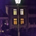 The Lantern and Windows at Night