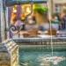 Venner Fountain Water Pipe with Volver Bar Tapas Café