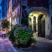 Nightrise at Flowered Postgasse Corner - Berne by Night