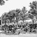 FunkYou Big Band at Münsterplattform - Berne Street Musicians in Black And White