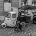 Mobile Coffee Bar in Berne, Black & White