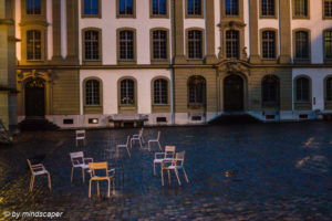 Berne Minster Square - Chair Party at Nightrise