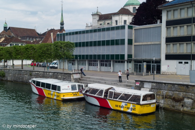 Öufi Boats - Transfer to the Park from Solothurn