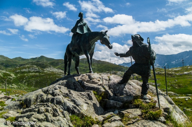 General Alexandr W. Suworow Monument - Gotthardpass