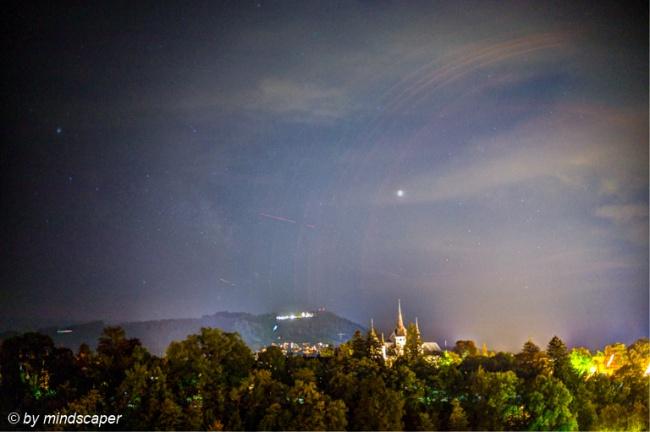 Stary Night above Gurten