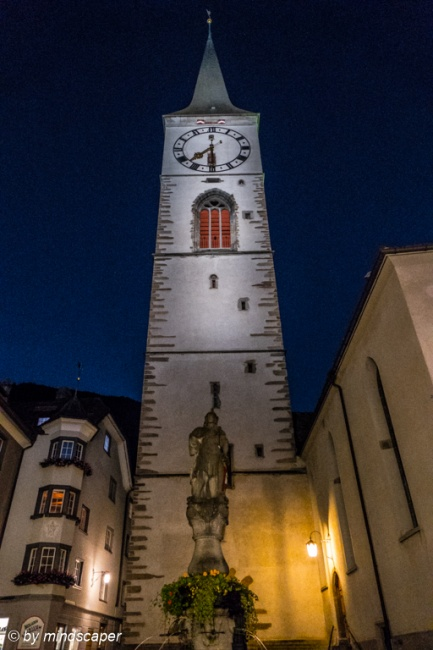 Martinsturm - Chur by Night