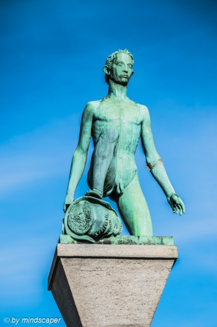 David Statue, Utoquai Zurich