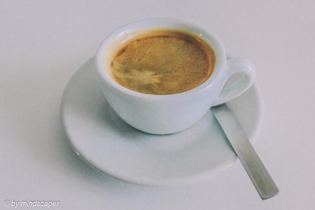 Espresso in White Cup - Coffee Time