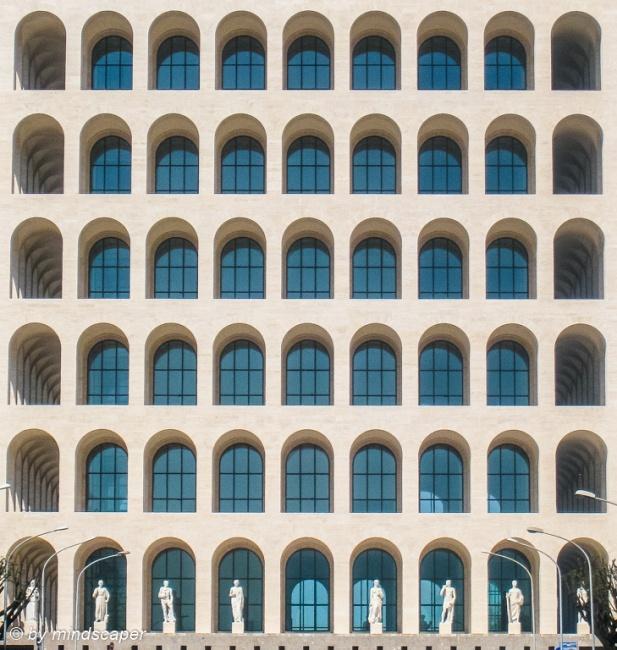 Palazzo della Civiltà del Lavoro - EUR Roma