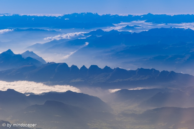Kurfirsten from Above - Landscapes