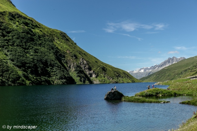 Lake Oberalp - Swiss Landscapes