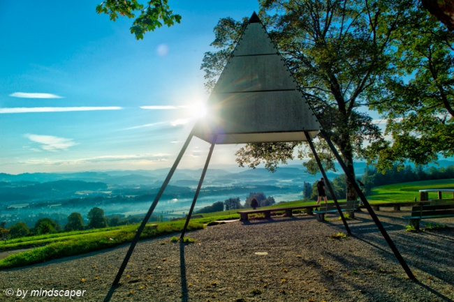 Morning Sun at Gurten Ostsignal