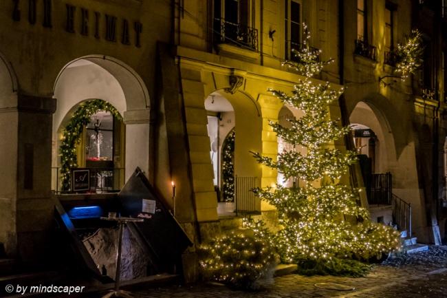 Christmastree in Gerechtigkeitsgasse
