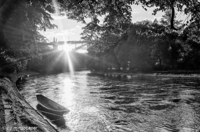 Aare Sunset at Kornhaus Bridge
