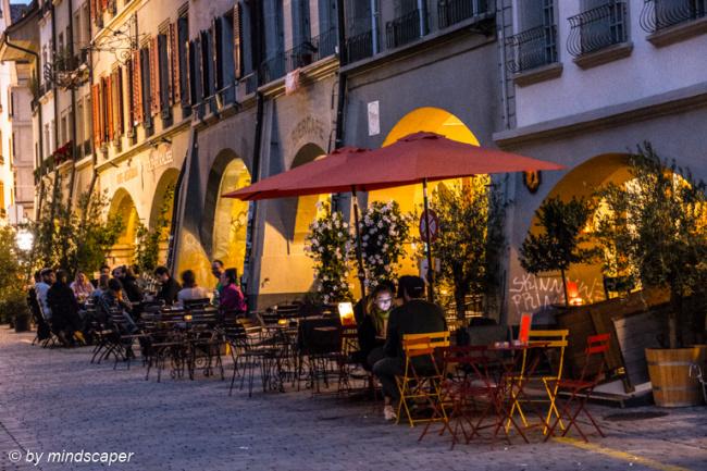Summer Evening in Rathausgasse